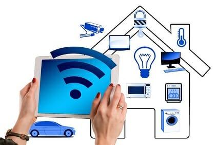 Smart home system setupp