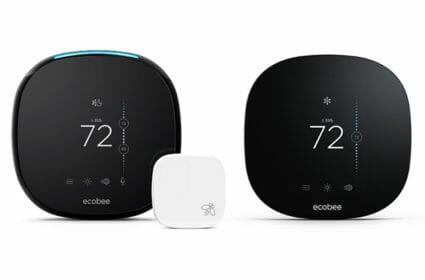 ecobee thermostats (ecobee 4 and ecobee 3 lite)