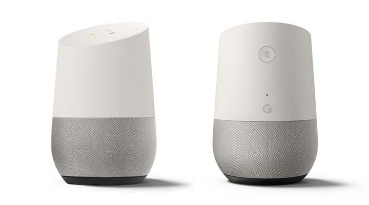 Google Home - Front and Back