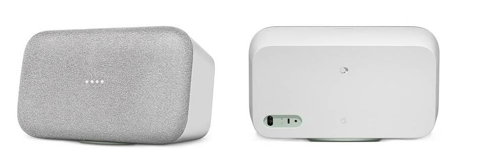 Google Home Max - Front and Back