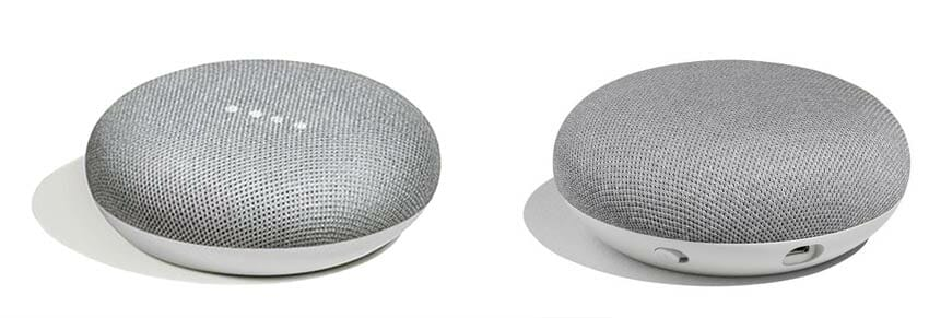 Google Home Mini - Front and Back