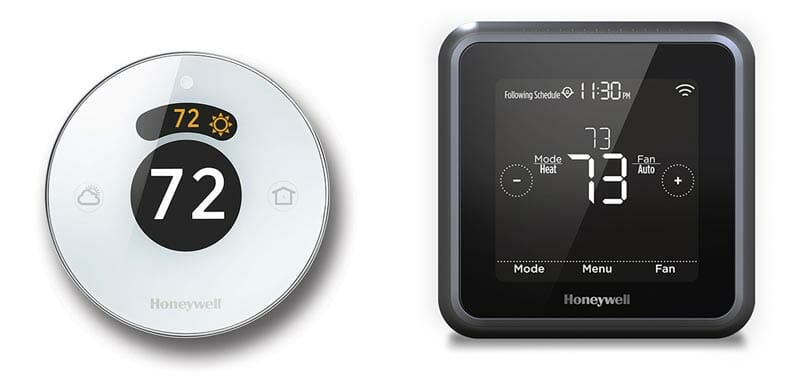 Honeywell Smart Thermostat Reviews – Round and T5+ | theIOTpad: DIY