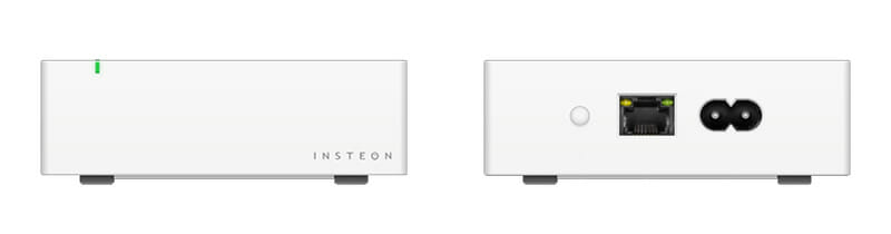 Insteon Hub - Front and Back
