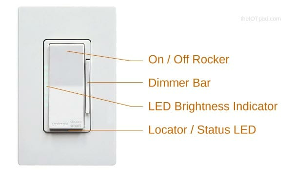 Leviton Decora Smart Dimmer Features