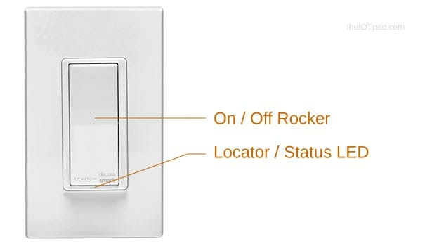 Leviton Decora Smart Switch Features