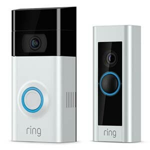 Ring Video Doorbell 2 and Ring Pro Video Doorbell Side-by-Side