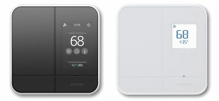 Stelpro Maestro Thermostat - Controller-Thermostat (left) and Thermostat (right)