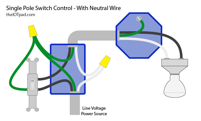 smart switches - no neutral wire? | theiotpad: diy home automation  theiotpad: diy home automation