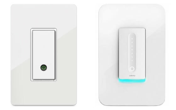 Wemo Smart Light Switch and Wemo Smart WiFi Dimmer